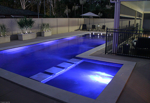 Pool shapes fibreglass swimming pools auckland for Pool design auckland